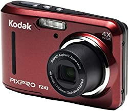 Kodak PIXPRO Friendly Zoom FZ43-RD 16MP Digital Camera with 4X Optical Zoom and 2.7