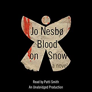 Blood on Snow audiobook cover art