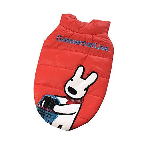 GBY huisdierkleding, hondenkleding, kleine honden, eenvoudige mantels, huisdieren als kleine teddybeer, winterjas, lichte vesten, warme huisdierkleding, kattenkleding, hondenkleding., XX-Large, Kleur: