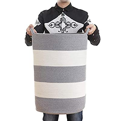 Amazon - 50% Off on Extra Large Blanket Basket for Living Room – Big Toy Storage Bin