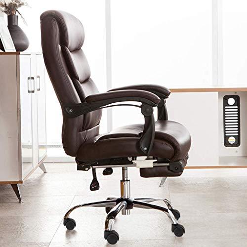 N/Z Tägliche Gerätestühle Home Office-Stuhl mit hoher Rückenlehne, Armlehne und Fußstütze Langlebig und stabil Höhenverstellbar Ergonomisch