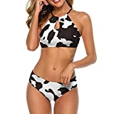 WECDS-E Conjunto de Sujetador para Mujer Bikini con Tiras Tr
