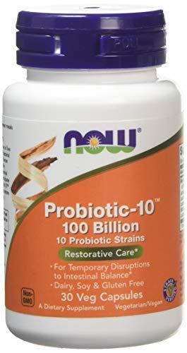 Probiotic-10 100 Billion 10 Probiotic Strains 30 Veg Capsules