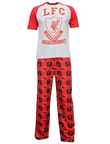 Liverpool FC Pijama con estampado grande del logo del club para hombre Extra grande Multicolor