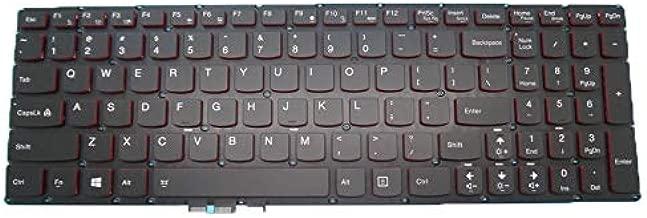 Laptop Keyboard for Lenovo Y50 Y70 U530 Y50-70 Y50-70 Touch Y50-80 Y70-70 English US 25215988 25215957 PK1314R2B00 9Z.N8RBC.J21 with Backlit