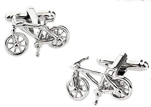 XKSWZD Manschettenknöpfe Mode Motorrad Manschettenknöpfe Sport Bike Design Qualität Messing Material Männer Manschettenknöpfe bike4