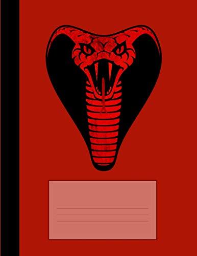 Notizbuch Kobra: Schreibheft, Schulheft, Ideenbuch, Notizheft, klassisch kariert