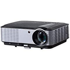 [HD - Brightness]]Thanks to the 4000 Lumens of brightness & 5,000:1 contrast ratio, the video projector T700 can display clear and bright images on a big screen more easily than than a normal LCD projector - The picture quality of T700 digital projec...