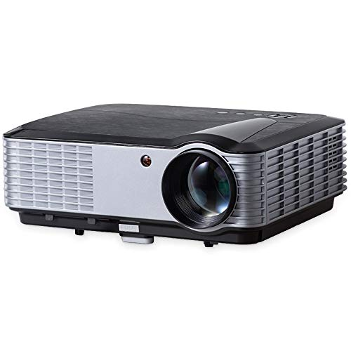 """iCODIS T700 Video Projector, Native Full HD 1080P Digital Projector 4000 Lux with 200"""" Display, 50,000 Hrs Lamp Life Compatible with TV Stick, PS4, Blue Ray, DVD Player and Smartphone for Home Theater"""