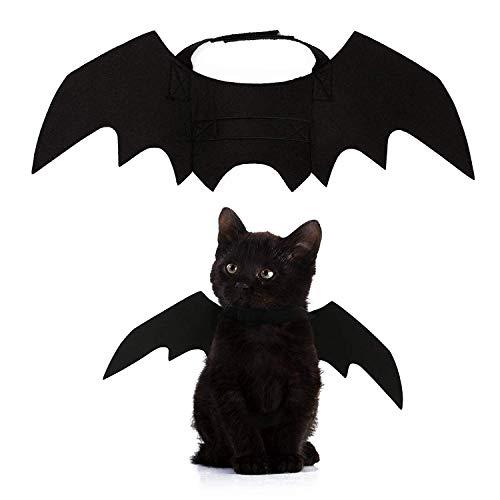 PEDOMUS Hundekostüm Halloween Kostüm Hund Katze Vampir Fledermaus Flügel Kostüme klein