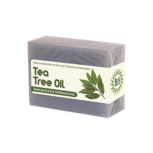 Jabón de árbol del té en pastilla Sol natural 100g