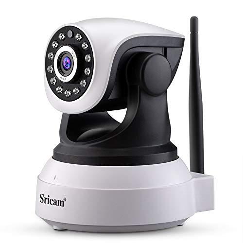Sricam SP017 Camara Vigilancia WiFi Interior, Camaras de Vigilancia WiFi Seguridad Camaras IP WiFi 1080P