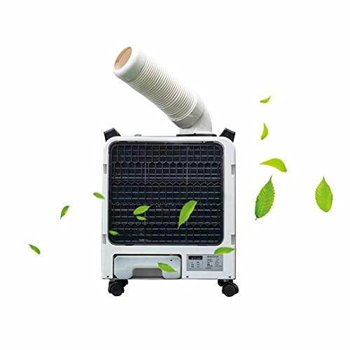Enfriador de aire con ventilador portátil para aire acondicionado, unidad de aire acondicionado para interiores/exteriores (6000BTU) con conducto de escape de 60 cm, enfriador evaporativo portátil