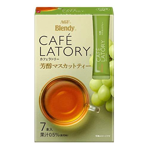 AGF ブレンディ カフェラトリー スティック 芳醇マスカットティー 7本×6箱 【 フルーツティー 】【 紅茶 スティック 】
