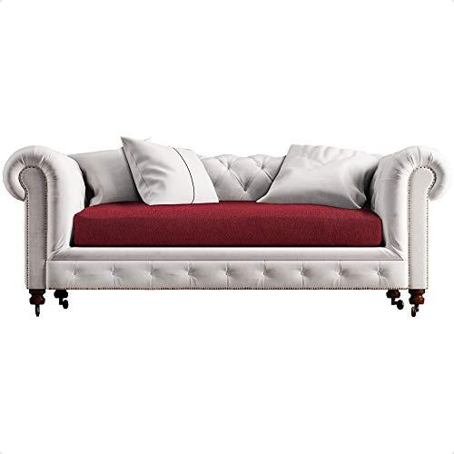 CIUCO COCCIUTO Funda elástica para sofá de 2 plazas – no se dobla ni se borra – Fabricada en Italia