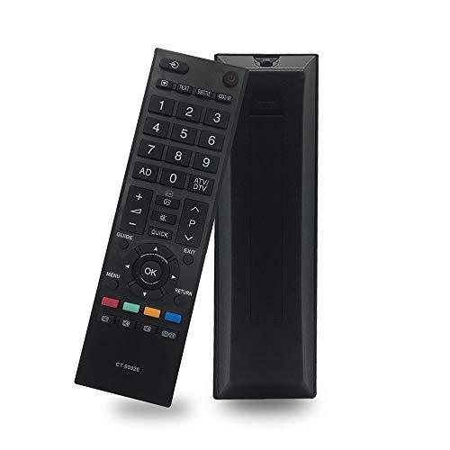 Nuovo Sostituzione Telecomando Universale Toshiba TV CT90326 per Telecomando Toshiba Regza LCD LED HD TV compatibile con CT-90325 CT-90351 CT-90329 19AV616DB