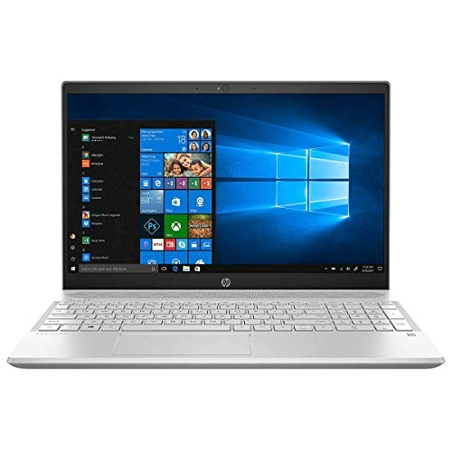 2020 HP Pavilion 15.6 Inch Touchscreen FHD 1080P Laptop (8th Gen Inter Quad-Core i5-8265U up to 3.9GHz, 32GB DDR4 RAM, 256GB SSD, Intel UHD Graphics 620, WiFi, HDMI, Win 10) (Silver) (Renewed)