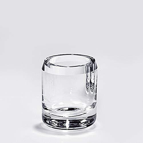 Lambert - Vase, Blumenvase - Salvatore - Kristallglas - (ØxH) 8 x 10 cm