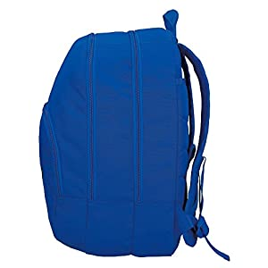 41biJcySngL. SS300  - Mochila Pepe Jeans Harlow Azul doble compartimento adaptable a carro