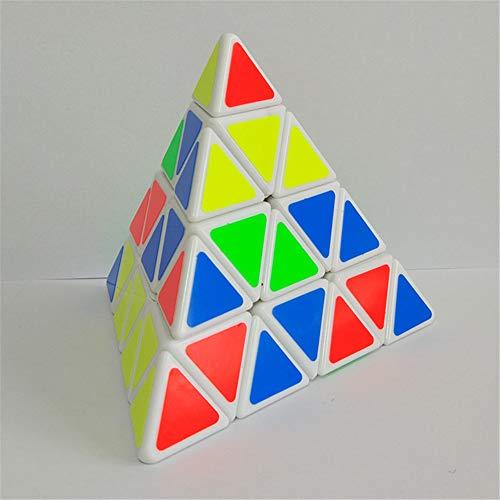 Ziyi Pirámide Puzzle Cuarto Orden Pyraminx Cubo Cubo de la