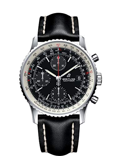 Breitling Navitimer A13324121B1X1 Montre chronographe automatique pour homme avec cadran noir