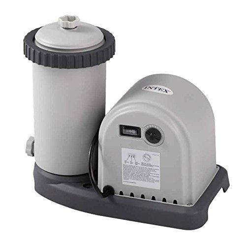 INTEX Filtre épurateur à cartouche 5.7 m³/h Gris 36x24x29 cm