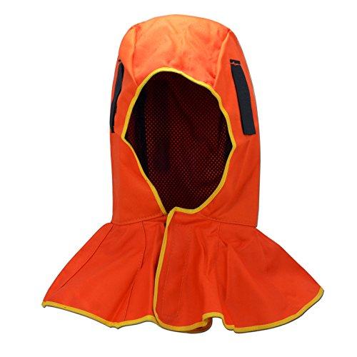 FR Capucha de protección completa con todo tipo de casco de soldadura 🔥