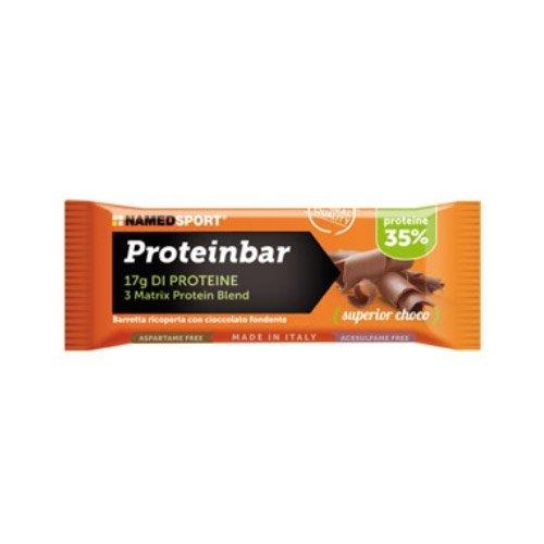 Namedsport Proteinbar 12 barrette da 50 g (Cacao)