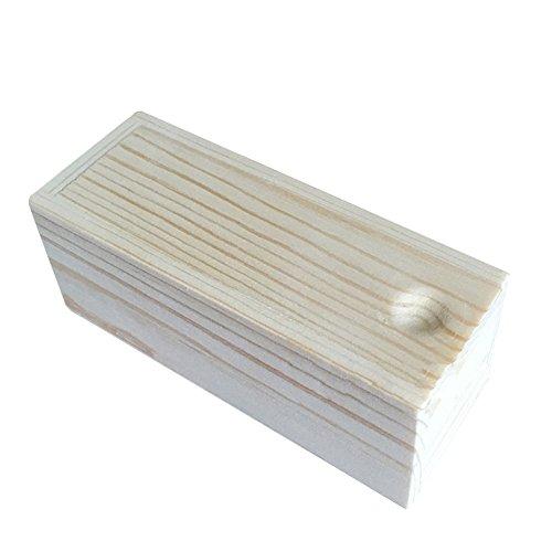 Demarkt houten kistje, uittrekbare afdekking, 12,5 x 4,5 x 4 cm