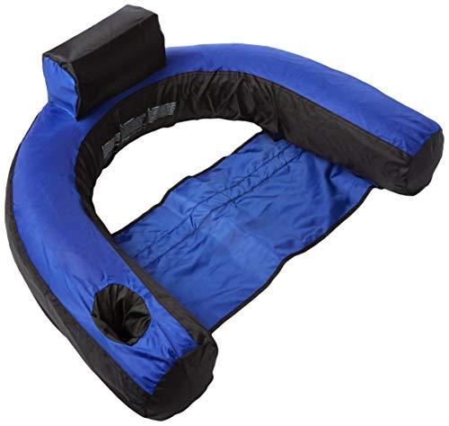 Swimline Nylon Covered U-Seat Swimming Pool Float, 2-Pack