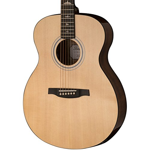 PRS Paul Reed Smith SE Tonare TX20E Full Size Grand Acoustic/Electric Guitar with Hard-Shell Case