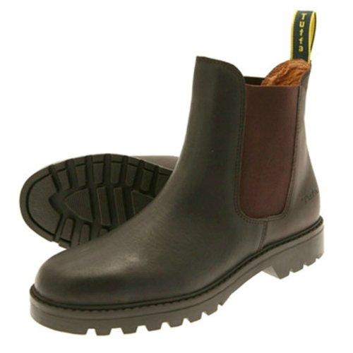 Tuffa Tuffa Chelsea-Boot Clysdale, ideal zur Gartenarbeit Braun braun Size 48