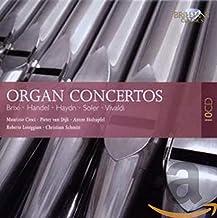 ORGAN CONCERTOS: Brixi, Handel, Haydn, Soler, Vivaldi