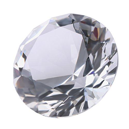 H&D 60mm helder K9 kristal diamant vorm papiergewicht bruiloft Aquarium Thuis tafel decoratie