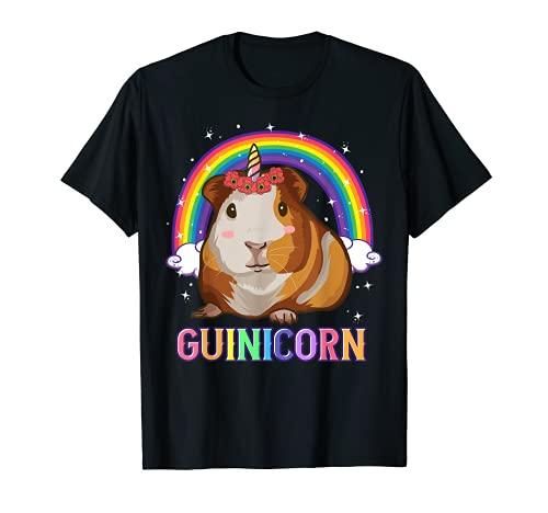 Meerschweinchen-Hemden für Mädchen, Meerschweinchen, Einhorn, Meerschweinchen T-Shirt