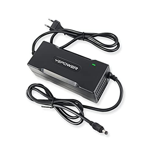 YZPOWER Caricatore per Hoverboard elettrica da 42V 2A per Batteria da 36 V connettore DC5,5 mm2,1 mm