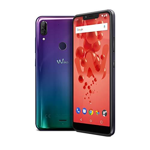 Wiko View 2 Plus Smartphone, Dual Sim, 64 GB, Turchese (Supernova)