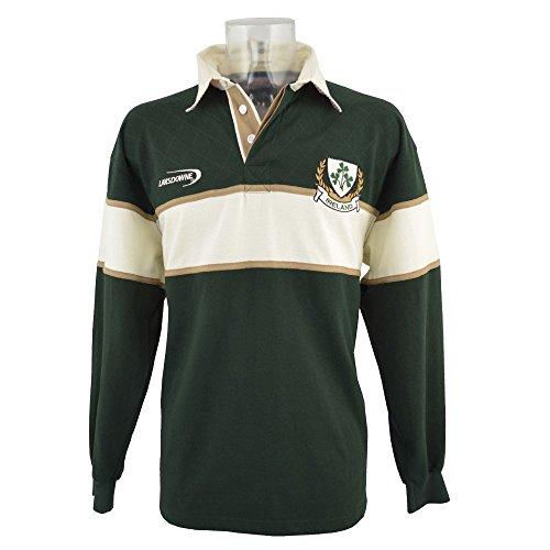 Rugbyshirt, Langarmshirt Irland XL