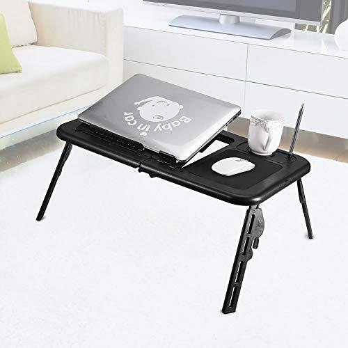 Tragbarer Verstellbarer Nachttisch, stehender Laptop-Schreibtisch, faltbares Sofa-Frühstückstablett, tragbarer Laptop-Ständer, Faltbarer Schreibtisch-Notebook-Tisch