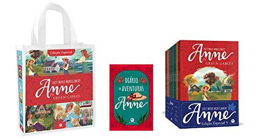 Coleção Anne De Green Gables - Kit Com 8 Livros