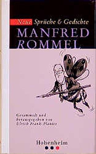 Rommel: Neue Sprüche und Gedichte