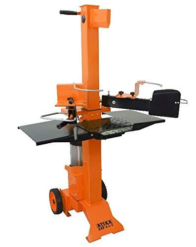 ATIKA 301730 Hydraulikspalter ASP 6 L-2 Kurzholzspalter bis 550 mm | 6 Tonnen Spaltkraft 6t | Brennholzspalter 230 V | Holzspalter stehend 3000 W