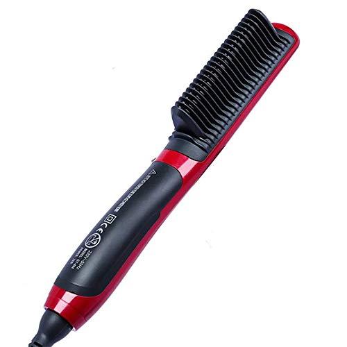 Hair Straight Styler, Cepillo Multifuncional para Alisar el Cabello, Calefacción Eléctrica, Peine de Cerámica para el Hogar y el Salón