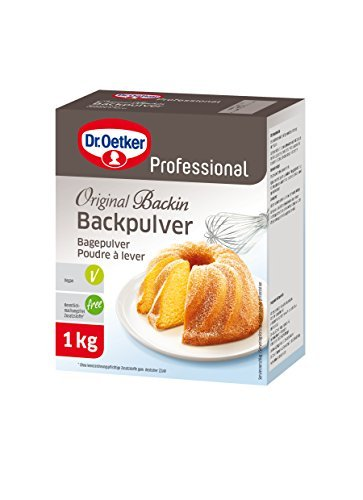 Dr. Oetker Professional Backpulver, 1 x 1kg Packung, Original Backin