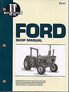 FORD TRACTOR I&T 2310,2600,2610,3600,3610,4100,4600,4610 SERVICE MANUAL FO-41