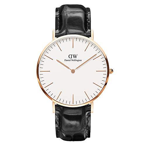 Daniel Wellington Classic Reading Rose Gold Watch, 36mm, Leather, for Men and Women