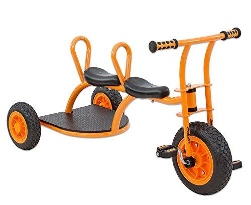Betzold Kinder-Taxi Dreirad Tretfahrzeug Kinder Fahrzeug 4-8 Jahren Sitzhöhe 38 cm
