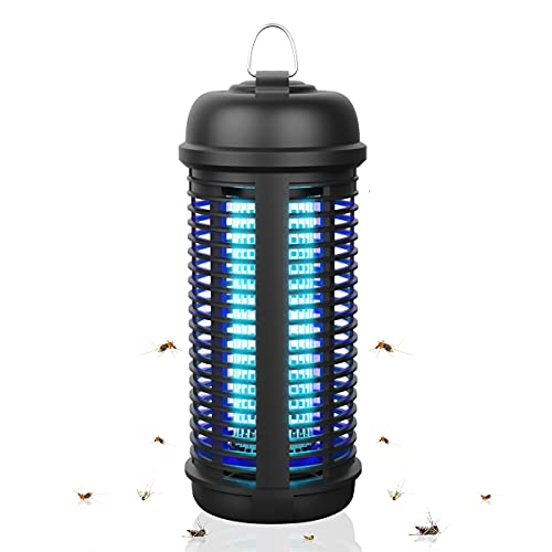 Powerful Bug Zapper for Indoor and Outdoor, Electronic Fly Trap Mosquito Zapper Insect Killer for Backyard Garden Patio Home