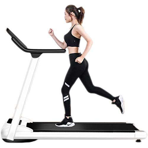 TREADMILL Electric Motorised Folding Running Machine, 1-10KM/H, Shock-Absorbing Walking Treadmill with Equipment Support, Non-Slip, Shock-Proof And Durable! Protect The Feet!