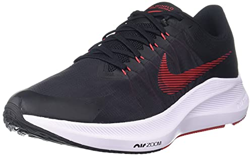 Nike Mens Air Zoom Winflo 8 Black/Red/Grey (Numeric_9_Point_5)